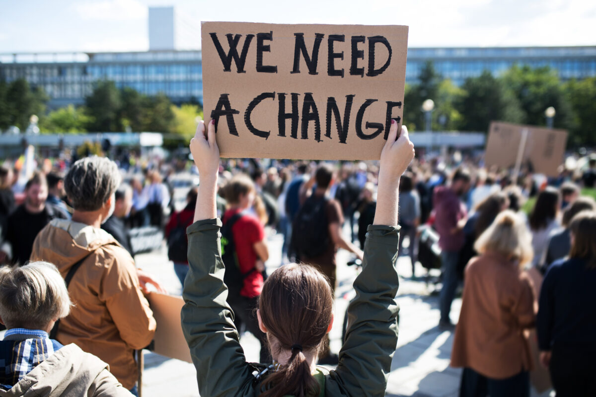 Voices of protest, crying for change, ring across US, beyond