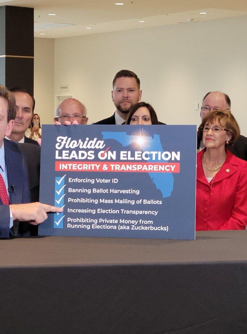 Florida gov signs GOP voting law critics call 'un-American'